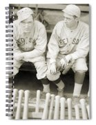 Boston Red Sox, 1916 Spiral Notebook