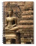 Buddha At Sukhothai Spiral Notebook