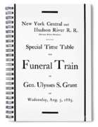 Burial Of Ulysses S. Grant Spiral Notebook