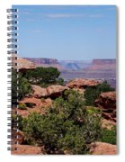 By The Canyon Spiral Notebook