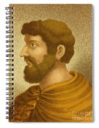Callimachus, Greek-libyan Poet Spiral Notebook