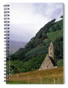 Chapel Of Saint Kevin At Glendalough Spiral Notebook