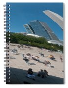 Chicago City Scenes Spiral Notebook