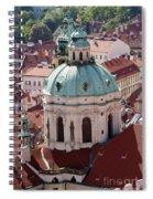 Church Of St Nikolas Spiral Notebook