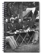 Civil War Soldiers Spiral Notebook