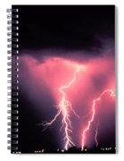 Cloud-to-ground Lightning Spiral Notebook