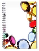 Colorful Gems Spiral Notebook