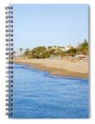 Costa Del Sol In Spain Spiral Notebook
