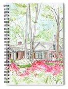 Custom House Rendering Sample Spiral Notebook