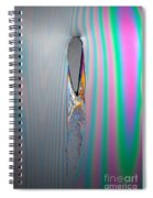 Flow Testing Air Foil Spiral Notebook