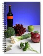 Foods Rich In Quercetin Spiral Notebook