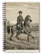 Franz Sigel (1824-1902) Spiral Notebook