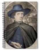 Fr�re Jacques Beaulieu, French Spiral Notebook