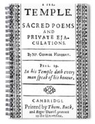 George Herbert (1593-1633) Spiral Notebook