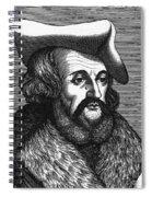 Girolamo Fracastoro, Italian Polymath Spiral Notebook