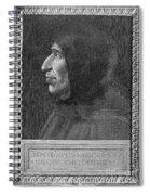 Girolamo Savonarola Spiral Notebook