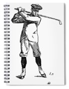 Golf, 1891 Spiral Notebook