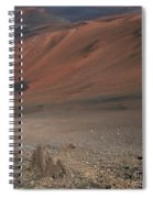 Haleakala Volcano Maui Hawaii Spiral Notebook