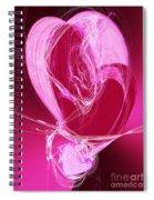 3 Hearts Spiral Notebook