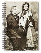Henry Ward Beecher Spiral Notebook