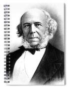 Herbert Spencer, English Polymath Spiral Notebook
