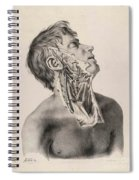Historical Anatomical Illustration Spiral Notebook