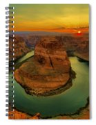 Horseshoe Bend Spiral Notebook