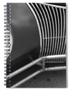 Hot Rod Front Spiral Notebook