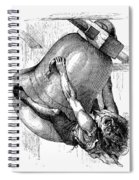 Hunchback Of Notre Dame Spiral Notebook