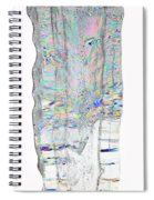 Icicle Cross Section Spiral Notebook