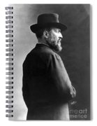 James A. Garfield, 20th American Spiral Notebook