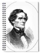 Jefferson Davis (1808-1889) Spiral Notebook