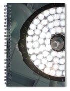 Led Surgical Lights Spiral Notebook