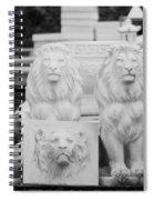 3 Lions Spiral Notebook