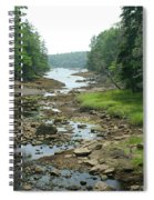 Low Tide In Maine Part Of A Series Spiral Notebook