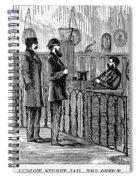 Ludlow Street Jail, 1868 Spiral Notebook