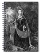 Mary Queen Of Scots Spiral Notebook