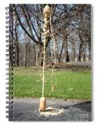 Mentos And Soda Reaction Spiral Notebook