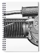 Motorcycle, 1902 Spiral Notebook