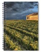 Newly Planted Crop Spiral Notebook