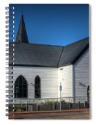 Norwegian Church Cardiff Bay Spiral Notebook