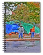 Occupy Buffalo Spiral Notebook