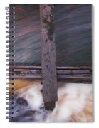 Old Mill Canal Spiral Notebook