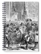 Paris Commune, 1871 Spiral Notebook