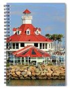 Parker's Lighthouse Restaurant Spiral Notebook