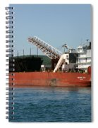 Presque Isle Ship Spiral Notebook