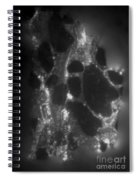 Radiation From Uranium Ore Conglomerate Spiral Notebook