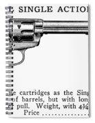 Revolver, 19th Century Spiral Notebook