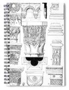 Romanesque Ornament Spiral Notebook