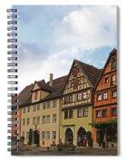 Rothenburg Medieval Old Town  Spiral Notebook